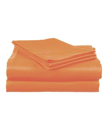 Coral Rampage Twin Sheet Set