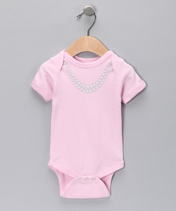 Pink Pearls Bodysuit - Infant