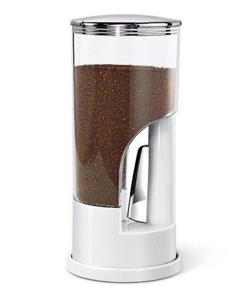 ZEVRO White Indispensable Coffee Dispenser