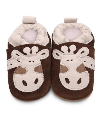 Brown Giraffe Bootie