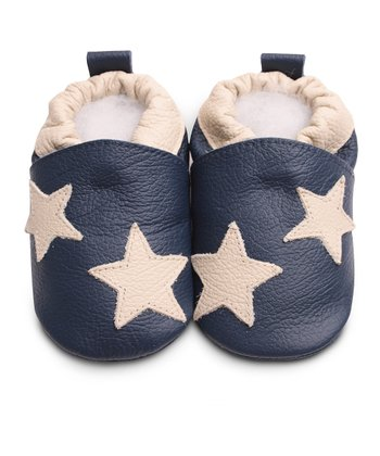 Navy Double Star Bootie