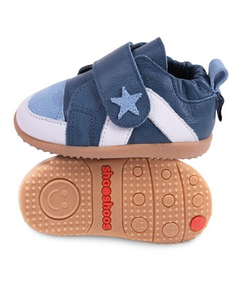 Cobalt Blue Star Smiley Bootie