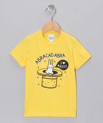 Yellow 'Abracadabra' Tee - Infant & Toddler