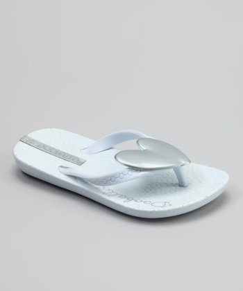 White Heart Jr. Flip-Flop