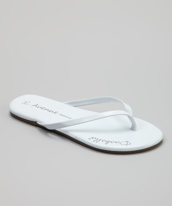 White On Avenue Jr. Flip-Flop