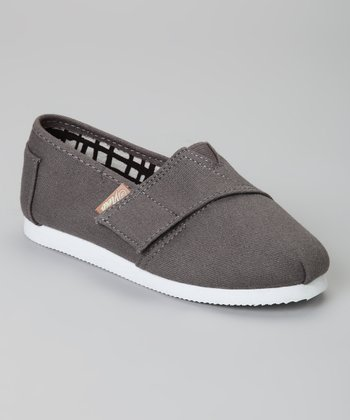 Gray Voyage Classic Slip-On Shoe