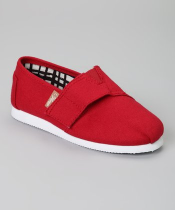 Red Voyage Classic Slip-On Shoe