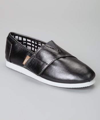 Pewter Metallic Voyage Slip-On Shoe