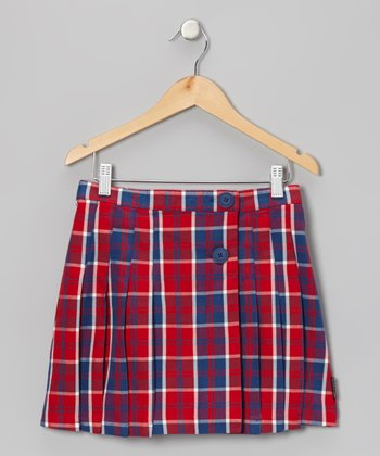 Poppy Tartan Skirt - Girls