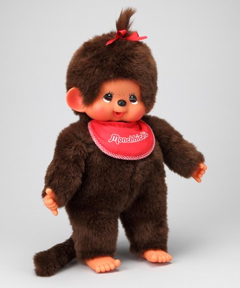 "18"" Girl Monchhichi Plush Toy"