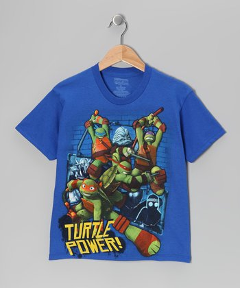 Royal TMNT 'Turtle Power' Tee - Kids