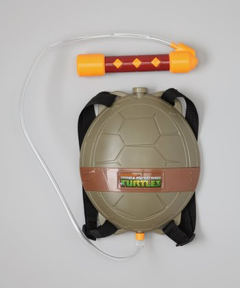 TMNT Shell Backpack Water Blaster