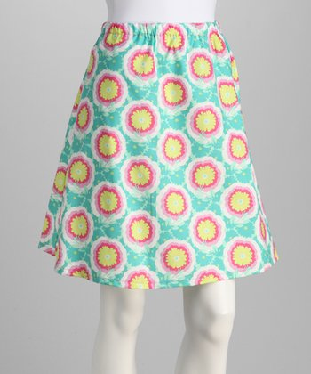 Blue Buttercup Skirt - Women