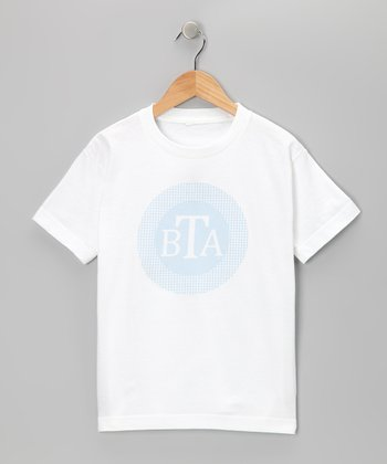 Swag Blue Monogram Gingham Tee - Infant, Toddler & Boys