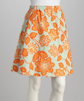 Amber Flower Skirt - Women