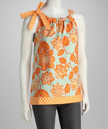 Amber Flower Top - Women