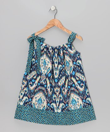 Kasbah Blue Swing Dress - Infant & Toddler