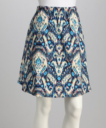 Kasbah Blue Skirt - Women