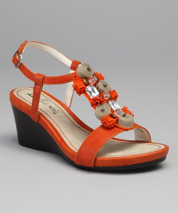 Orange Treasure Wedge
