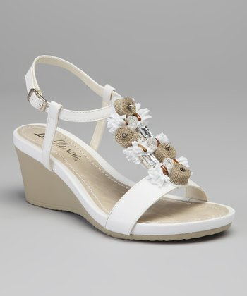 White Treasure Wedge