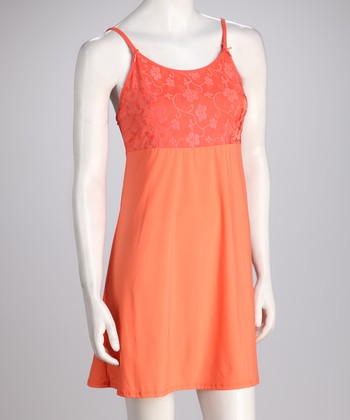 Coral Sweet Song Nightgown - Women & Plus