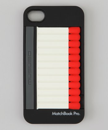 Black Matchbook Pro Case for iPhone 4S