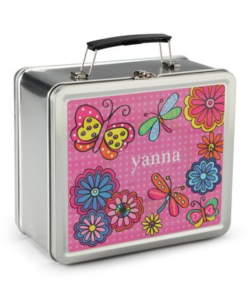 Twirly Personalized Lunch Box