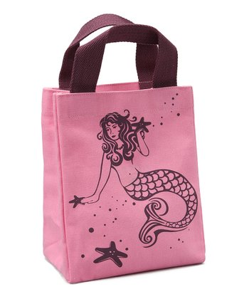 Green with a Twist Sea Star Pint-Size Tote