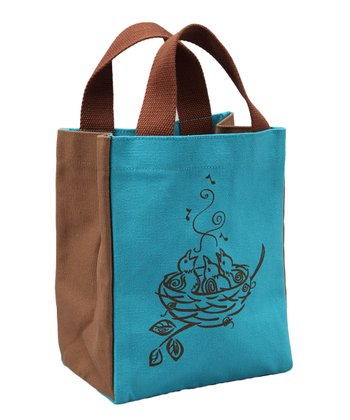 Green Chicks Pint-Size Tote