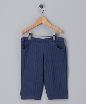 Blue Stone Bermuda Shorts - Toddler & Girls