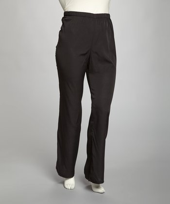 Black Plus-Size Pants