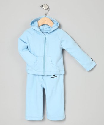 Baby Blue Yoga Set - Infant & Toddler