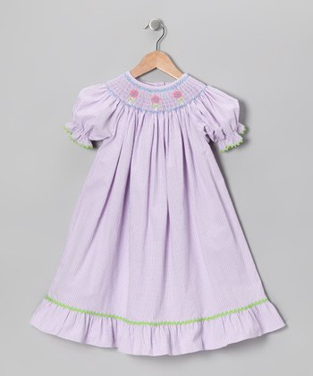 Purple Lollipop Bishop Dress - Infant, Toddler & Girls