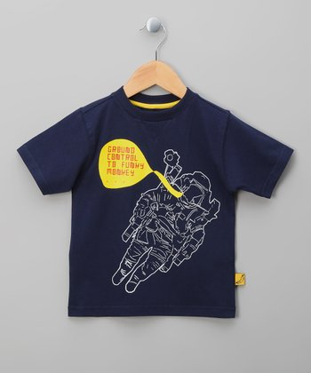 Navy Astronaut Tee - Infant