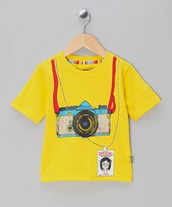 Yellow Camera Tee - Toddler & Boys