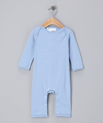 Sky Blue Organic Playsuit