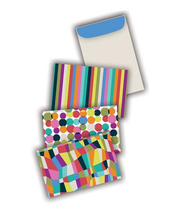 iota by C.R. Gibson Color Dot Note Card Set