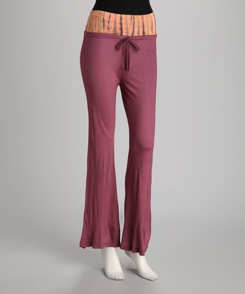 Mauve Lounge Pants - Women