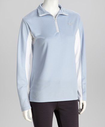Glacier Blue Ventilated Pullover - Women & Plus