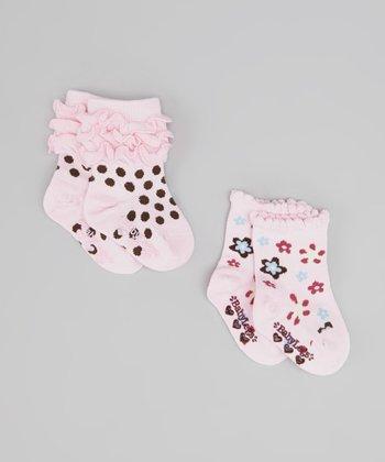 Pink Dearest Socks Set