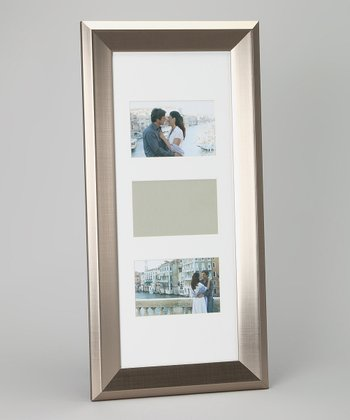 Silver 8'' x 20'' Vertical Scoop Frame