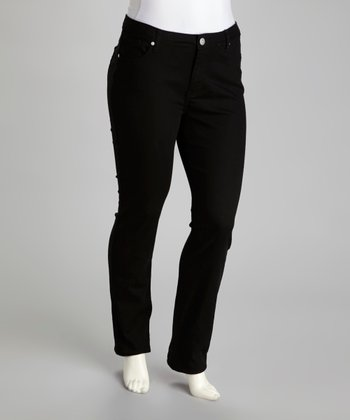 Black Marilyn Stretch Skinny Jeans - Plus