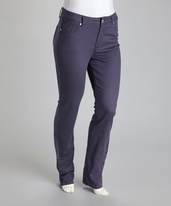 Gray Marilyn Stretch Skinny Jeans - Plus
