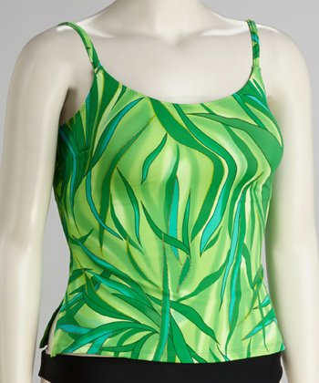 Green Sea Tankini Top - Women