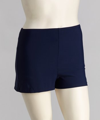 topanga By T.H.E. Navy Swim Shorts - Women & Plus