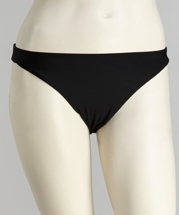 topanga By T.H.E. Black Foxy Bikini Bottoms - Women