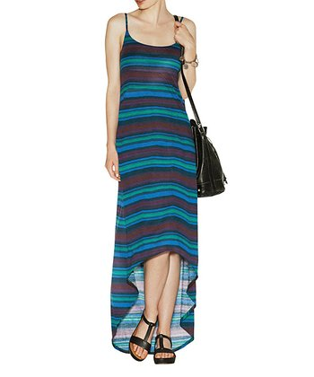 Jade Stripe Barnet Hi-Low Dress - Women