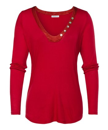 Rio Red Franklin Top