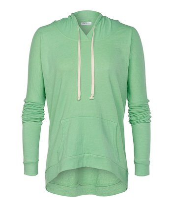Pea Pod Heather Larchmont Hoodie - Women