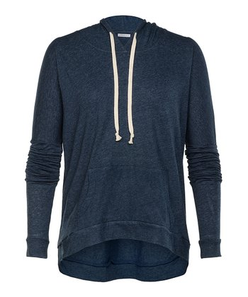 Navy Heather Larchmont Hoodie - Women